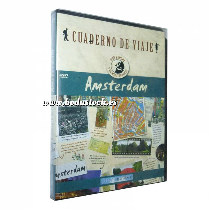 Imagen Cuadernos de Viaje - Pilot Gui Amsterdam - Cuadernos de viaje de Pilot Guides (Últimas Unidades)
