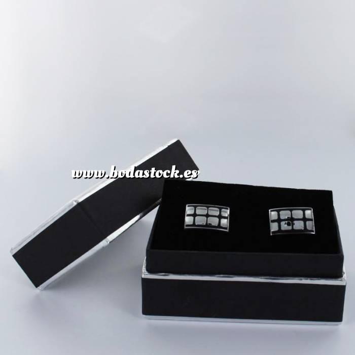 Imagen Para Hombre Gemelos Ref.04 en caja plateada forrada (Últimas Unidades)