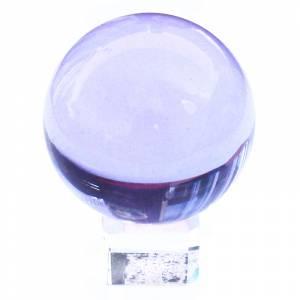 Marcos y decoración - esfera cristal azul