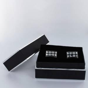 Para Hombre - Gemelos Ref.04 en caja plateada forrada (Últimas Unidades)