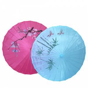 Imagen Sombrillas Sombrilla Japonesa CON dibujos y Colores Surtidos