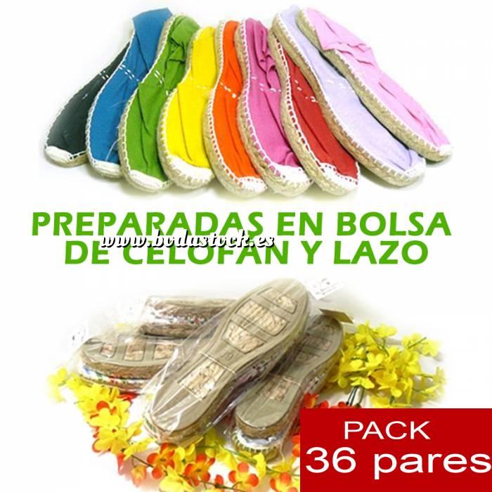 Imagen Cerradas mujer Alpargatas cerradas y preparadas colores surtidos colores surtidos caja 36 pares