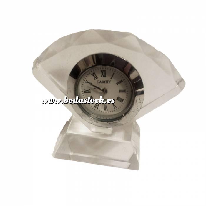 Imagen Marcos y decoración Reloj de cristal abanico
