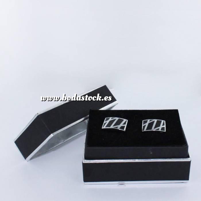 Imagen Para Hombre Gemelos Ref.16 en caja plateada forrada (Últimas Unidades)