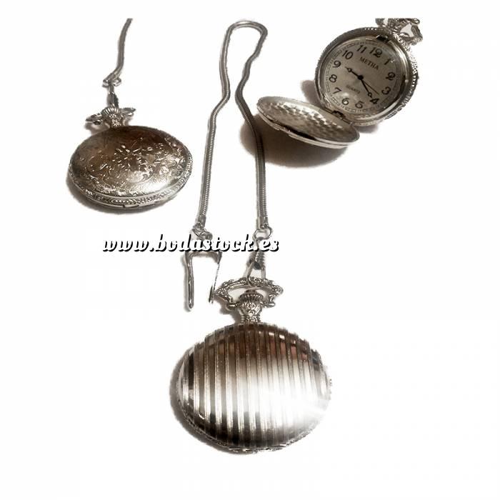 Imagen Relojes de Bolsillo Reloj de bolsillo - Grande - Rayas 1 cara (Últimas Unidades)