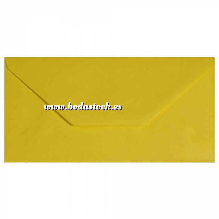 Imagen Sobre Americano DL 110x220 Sobre Amarillo Oscuro DL
