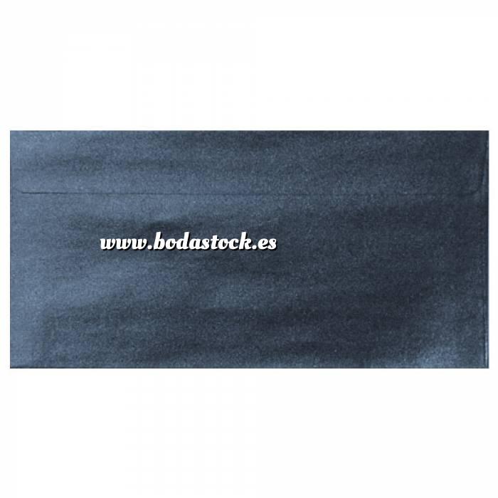 Imagen Sobre Americano DL 110x220 Sobre Perlado azul DL (azul noche)