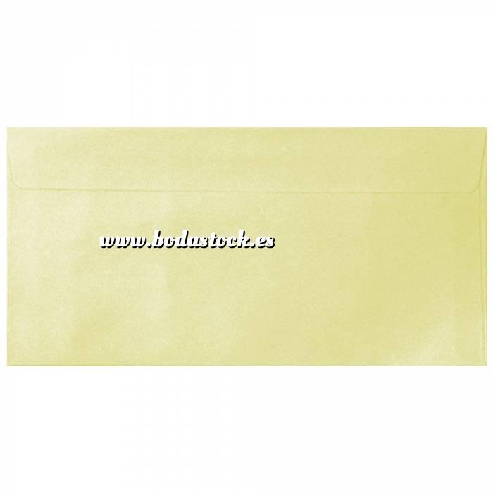 Imagen Sobre Americano DL 110x220 Sobre Perlado crema DL