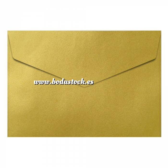 Imagen Sobres C5 - 160x220 Sobre Dorado pico c5