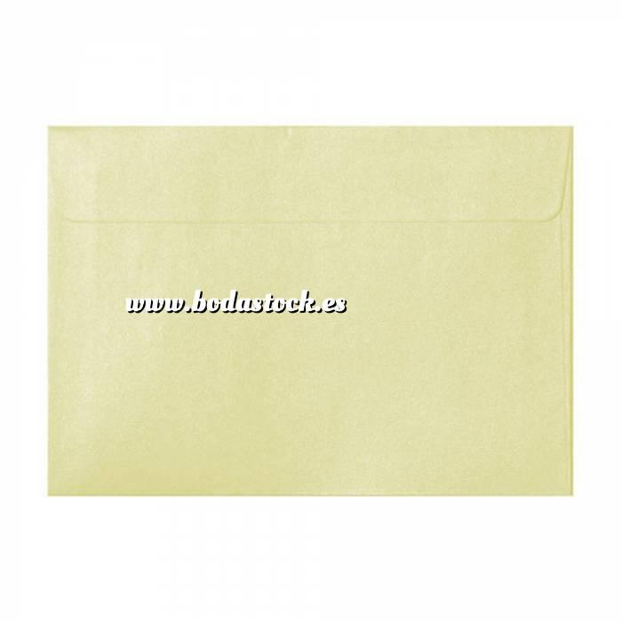 Imagen Sobres C5 - 160x220 Sobre Perlado crema c5