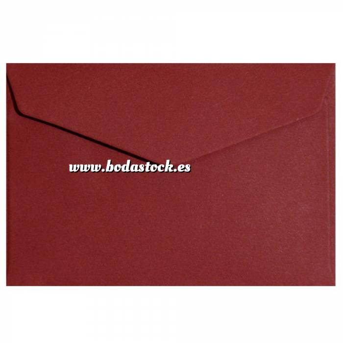 Imagen Sobres C5 - 160x220 Sobre burdeos pico c5 (rojo oscuro)