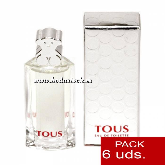 Imagen .PACKS PARA BODAS Tous Eau de toilette 4.5 ml by Tous PACK 6 UNIDADES
