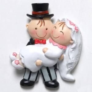 Genérico - Imán novia en brazos Pit-Pita
