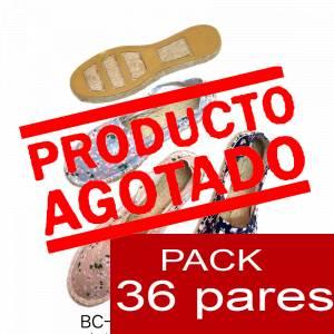 Imagen Mujer Estampadas Alpargata estampada FLOR DE LOTTO Caja 36 pares - OFERTA ULTIMAS CAJAS (duplicado)