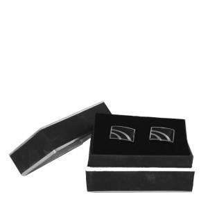 Para Hombre - Gemelos Ref.06 en caja plateada forrada (Últimas Unidades)