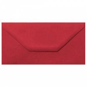 Sobre Americano DL 110x220 - Sobre burdeos DL (rojo escarlata)