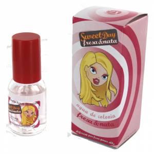 -Mini Perfumes Mujer - Fragancia dulce Sweet Day Eau de toilette - Fresa y Nata 20ml. (Últimas Unidades)